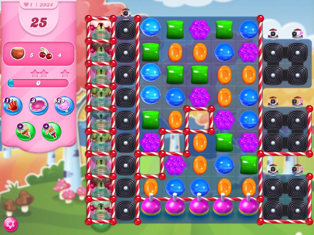 Candy Crush Saga level 3934