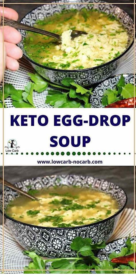 Keto Egg Drop Soup