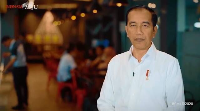 Presiden Jokowi Contohkan Cara Cegah COVID-19 Melalui Video