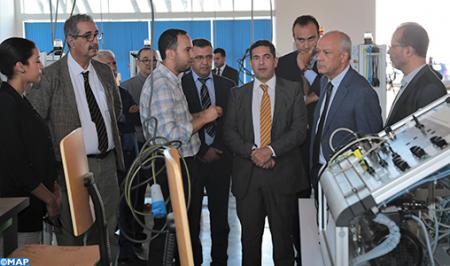 Formation à l'Institut de formation aux énergies renouvelables et à l'efficacité énergétique à Tanger