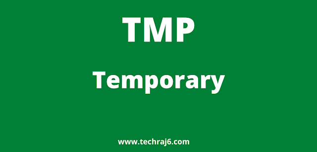 TMP full form, What is the full form of TMP