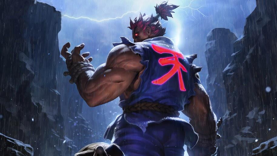Akuma, Back, Symbol, Street Fighter, 4K, #6.1608