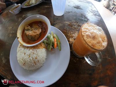 Set Nasi Dagang Lauk Ikan Tongkol