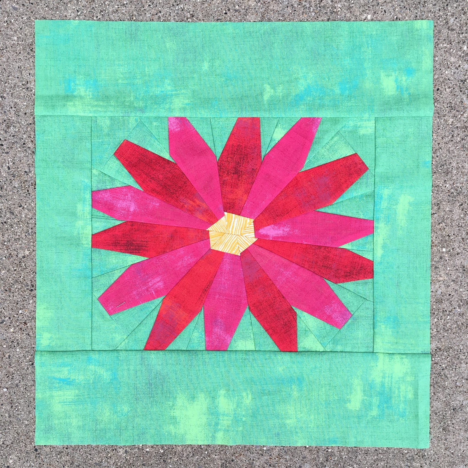 Quilts From The Little House Quick Painted Daisy