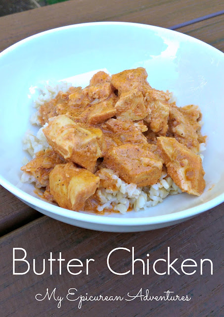 The BEST Butter Chicken, made in the slow cooker or skillet!
