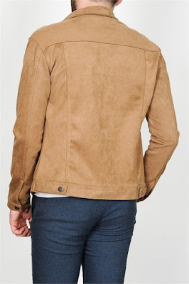Kahverengi süet deri ceket nasıl giyilir