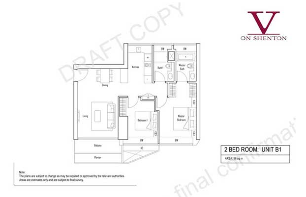 V On Shenton Floor Plan