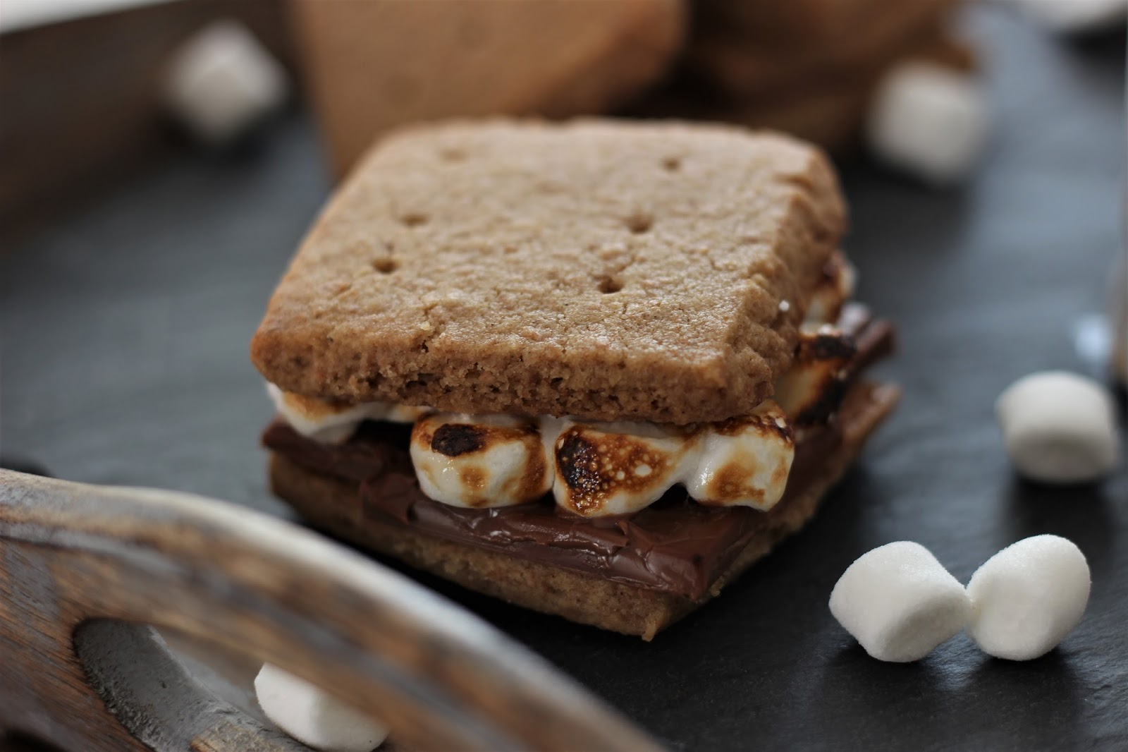 S'mores-Hot-Chocolate-homemade-graham-crackers