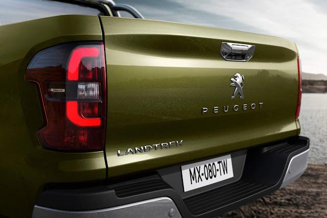 Peugeot Landtrek - concorrente da Hilux