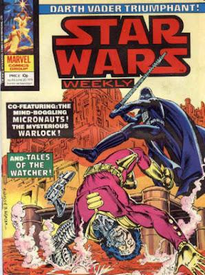 Star Wars Weekly #69, Darth Vader Triumphant