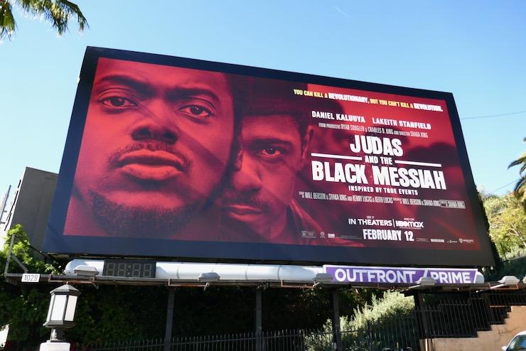Judas and Black Messiah movie billboard