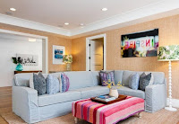 How to decorate and arranging furniture for L-shaped living room