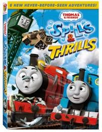 Enter the Thomas & Friends: Spills & Thrills Giveaway. Ends 3/4