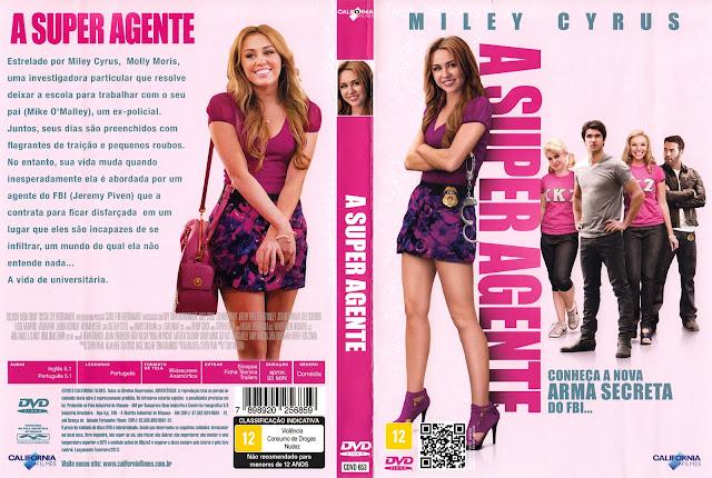 Capa DVD A Super Agente