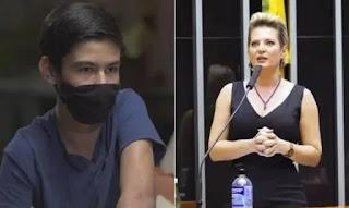 Filho de Bruno Covas comenta em publicação do PSDB sobre filiação de Joice Hasselmann