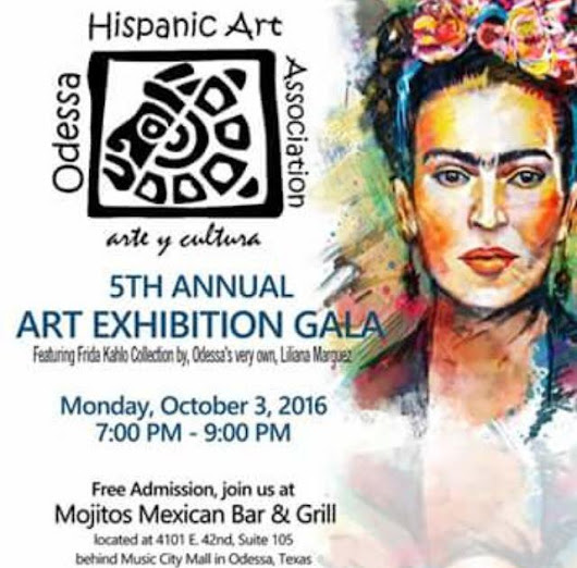 Odessa Hispanic Art Association 2016