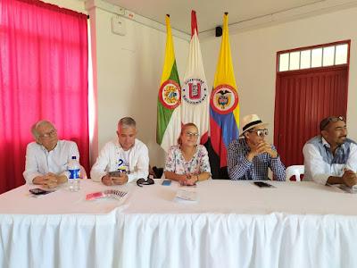 """conversatorio en universidad Surcolombiana – USCO -, """"El perdón y la Paz es una decisión"""""""