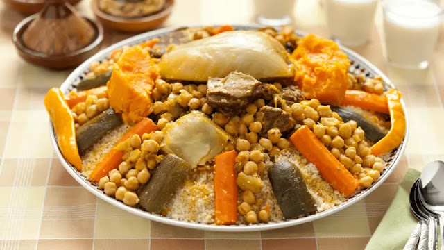 morrocan Couscous from Scratch