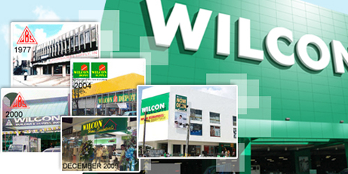 Wilcon mandaue city cebu for Home depot sister companies