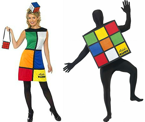 Rubik's Cube Costumes for Adults