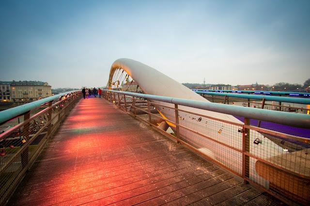 Father Bernatek's Bridge (ponte)-Cracovia