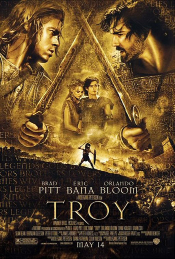 Troy 2004 DC Dual Audio ORG Hindi BluRay 480p 500MB poster