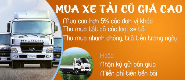 Mua bán xe tải Hyundai cũ tại Hưng Yên