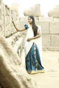 Shruti Reddy latest photos in half saree-thumbnail-3