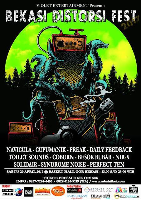 Bekasi Distorsi Fest 2017 - Lorong Musik