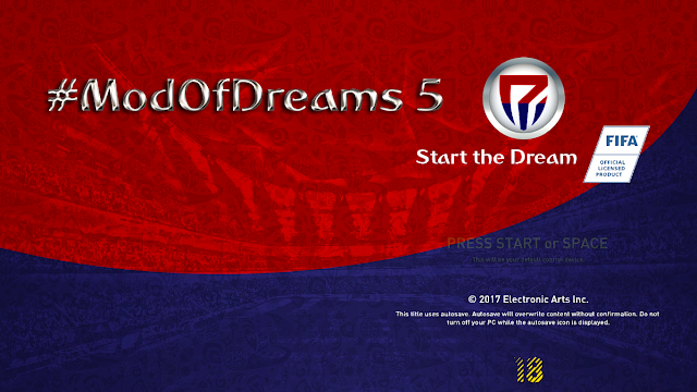 Cara Install ModOfDreams5 by redmessi di FIFA 18