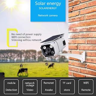 ip telecamera solare wireless