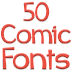 Dica de App: Fonts for FlipFont 50 Comic