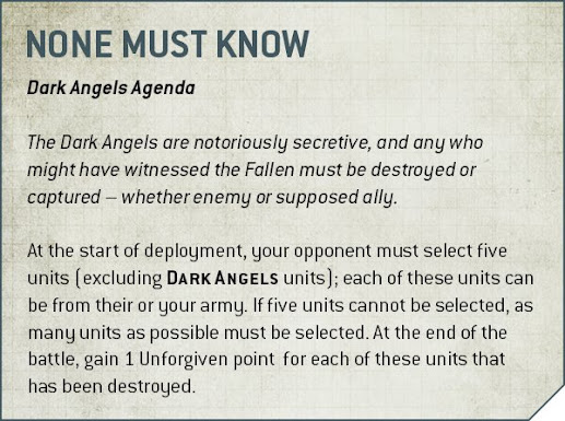 reglas de Cruzada para Ángeles Oscuros