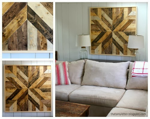 That S My Letter Diy Wood Planked Quilt