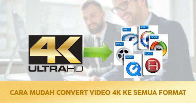 Convert Video ke Semua Format via PC