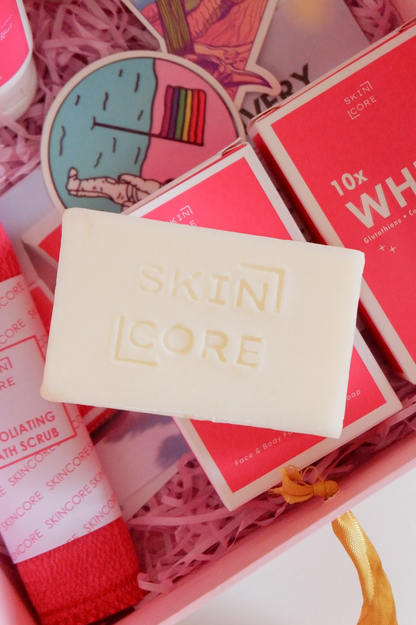 SKINCORE PH - 10X WHITE FAST WHITENING LOTION AND SOAP REVIEW