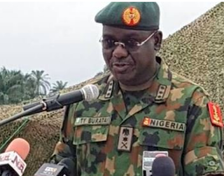 We'll be ruthless with bandits, kidnappers, says Buratai