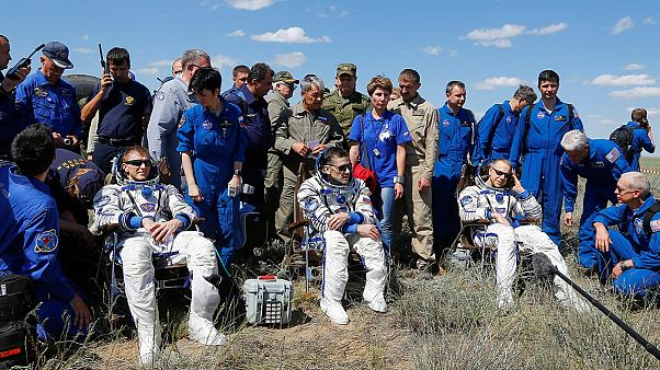 Επέστρεψαν στη Γη μετά από 6 μήνες οι αστροναύτες του Διεθνούς Διαστημικού Σταθμού (βίντεο)