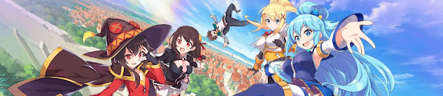 anunciado nuevo anime para KONOSUBA.