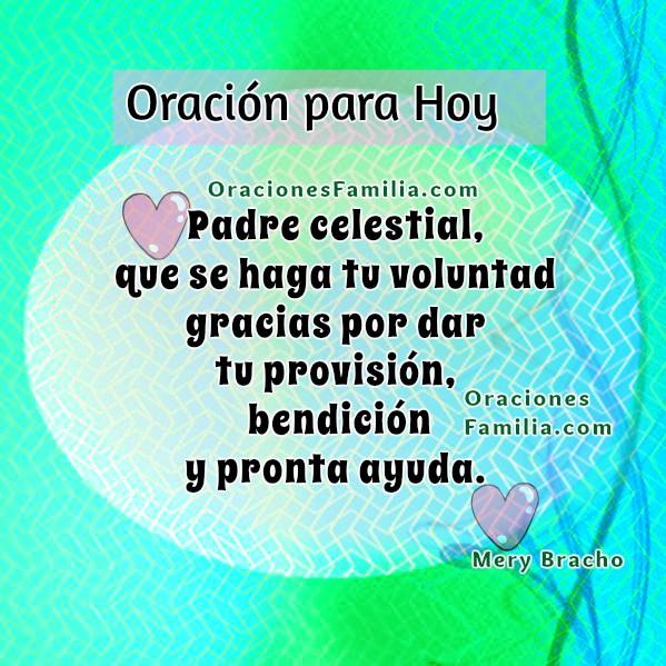 Bonita oración para iniciar el día, oración de la mañana, frases cristianas con imágenes de oraciones cortas por Mery Bracho.