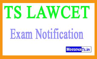 TS LAWCET Exam Notification