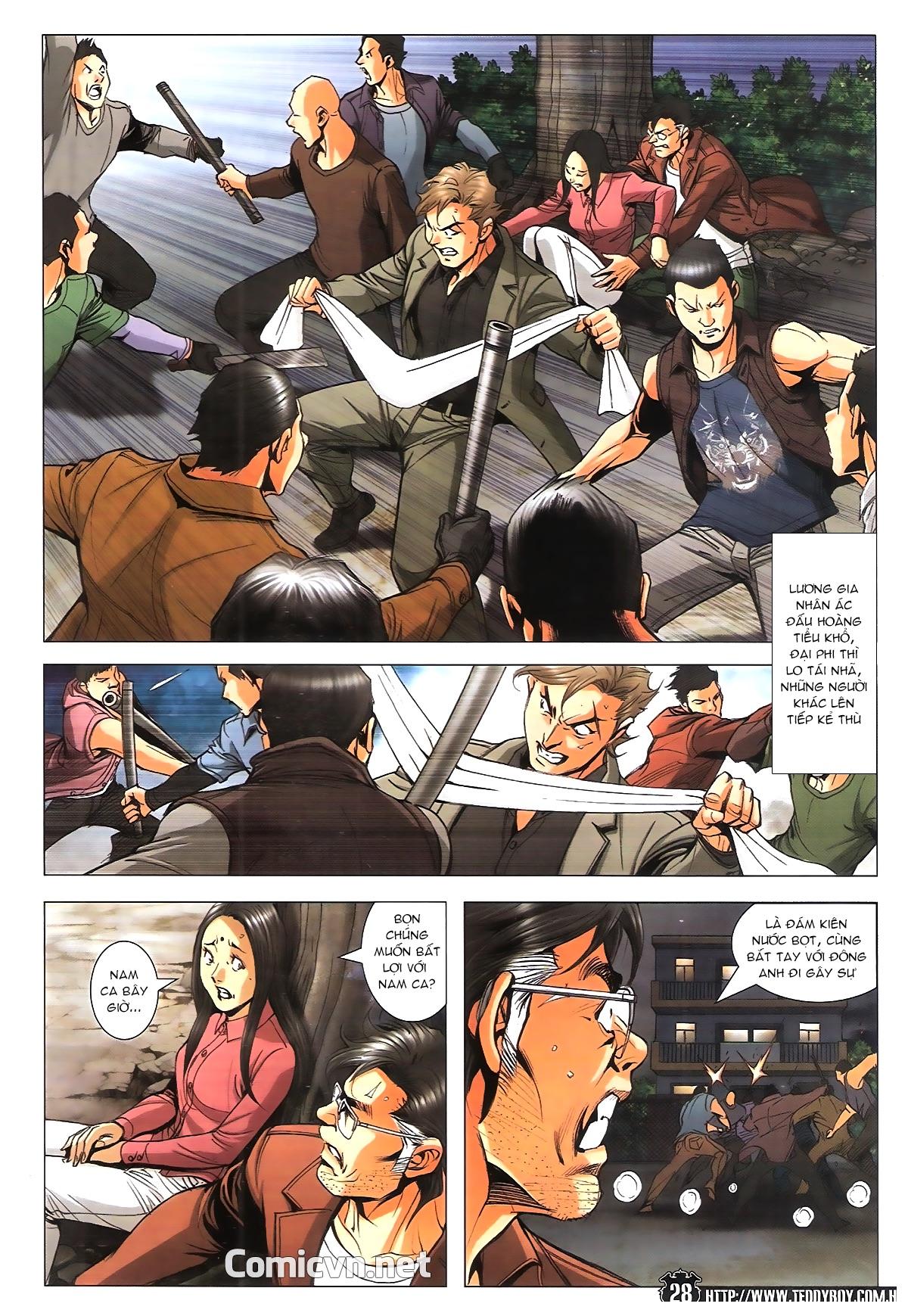 Người Trong Giang Hồ chapter 1787: hỏa thiêu trần hạo nam trang 26