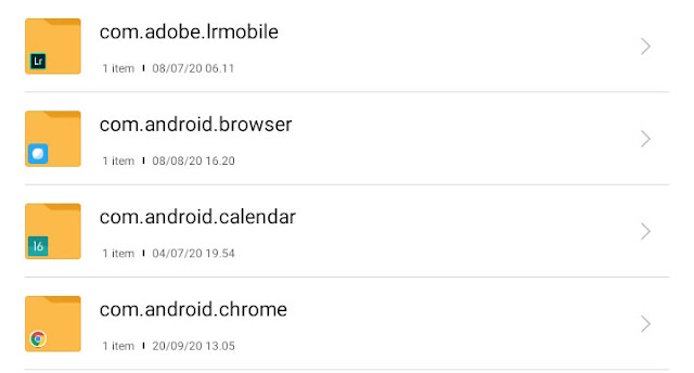 Cara Melihat Folder Aplikasi di Android