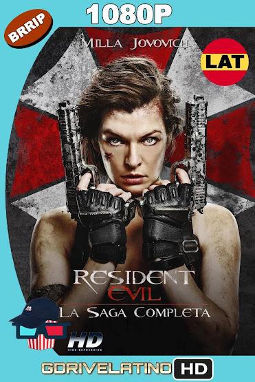 Resident Evil (2002-2017) Saga Completa BRRip 1080p Latino-Ingles MKV