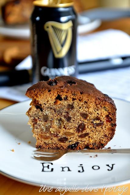 Irish porter cake