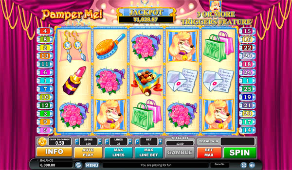 Main Gratis Slot Indonesia - Pamper Me Habanero