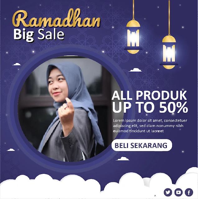 Free Twibbon PPT : Contoh Twibbon Ramdhan Powerpoint Sale Gratis