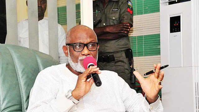 Amotekun: Akeredolu reacts as Buhari govt declares South West outfit 'Illegal