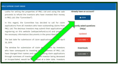 How to Edit Pacl online Refund Registration?