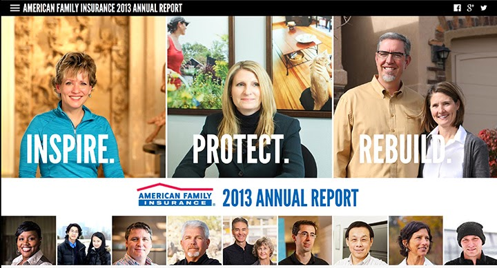 American Family Insurance Annual Report 2013